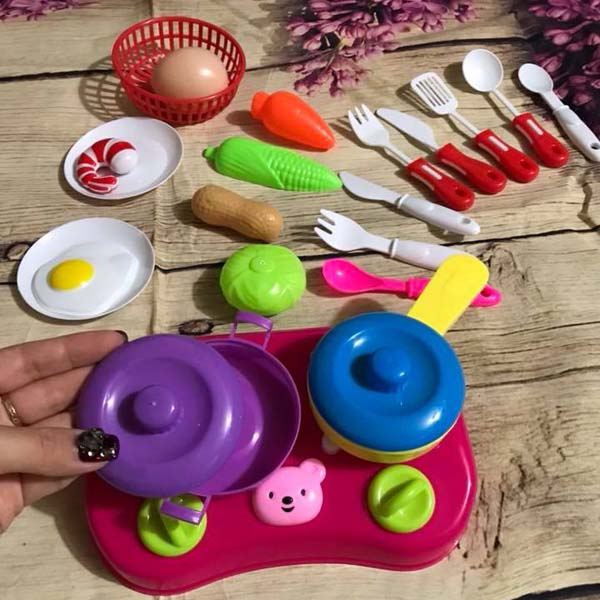 Bán buôn bộ đồ chơi nấu ăn rau củ quả cho bé