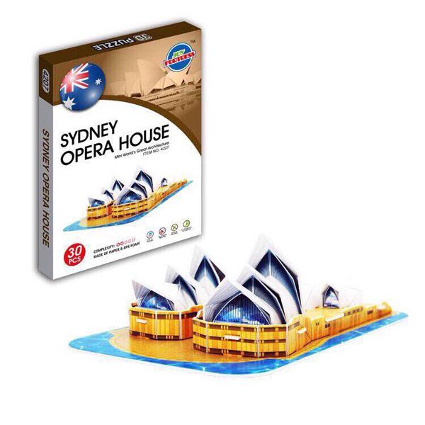 Bán sỉ bộ lắp ráp mô hình 16 kiến trúc nổi tiếng thế giới