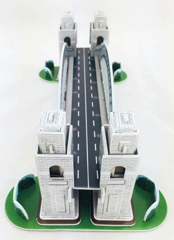 Bán buôn bộ lắp ráp mô hình 16 kiến trúc nổi tiếng thế giới