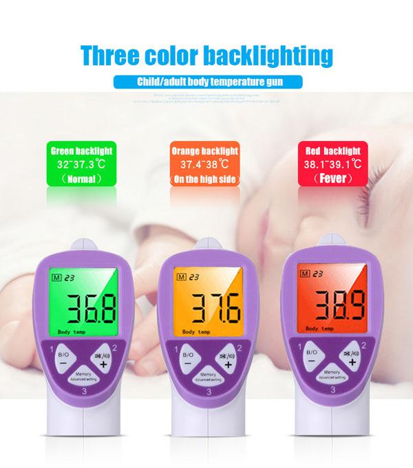 Bán sỉ nhiệt kế hồng ngoại đa chức năng Infrared Thermometer FI01