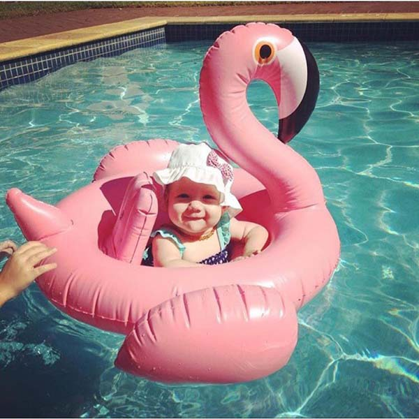 Phao bơi cho bé hình thiên nga