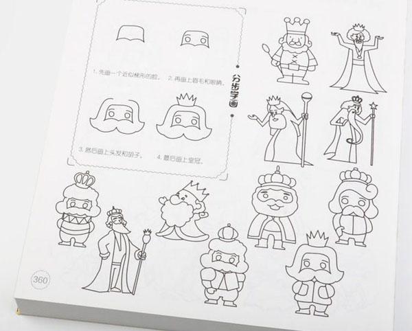 Bán sỉ sách tập tô 5000 hình kèm 12 bút chì màu cho bé
