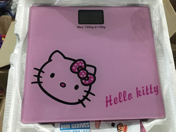 Bán buôn cân điện tử hello kitty dễ thương