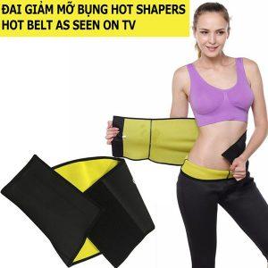 Đai quấn giảm mỡ bụng Hot Shapers Hot Belt