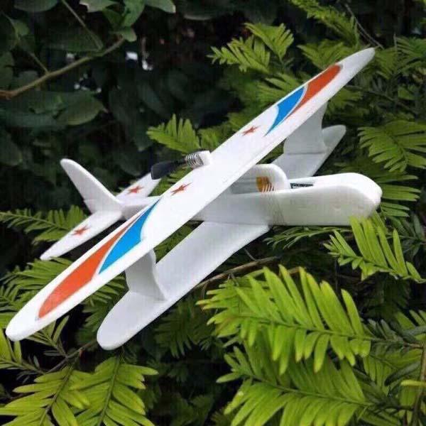 Máy bay chạy pin mô tơ cánh quạt