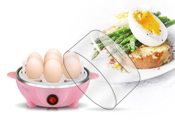 Bán buôn máy hấp trứng hâm thức ăn 1 tầng đa năng