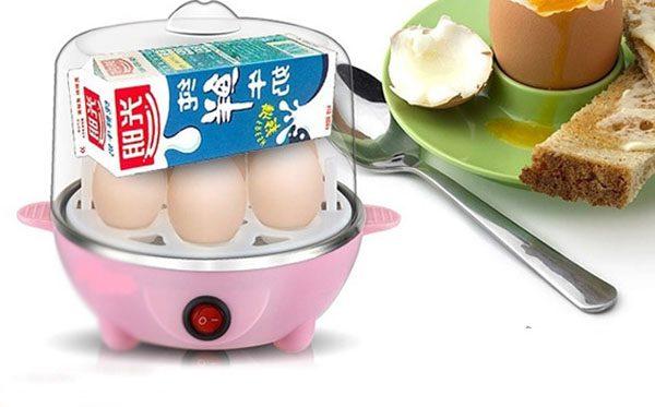 Máy hấp trứng hâm thức ăn 1 tầng đa năng