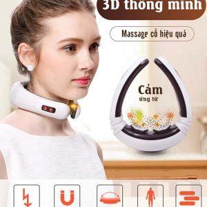 Máy massage cổ 3D cảm ứng xung điện từ KL-8530