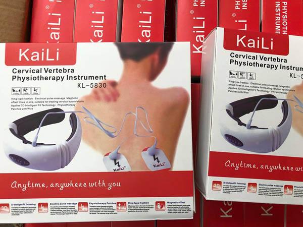 Bán buôn máy massage cổ thông minh 3D KaiLi KL-5830