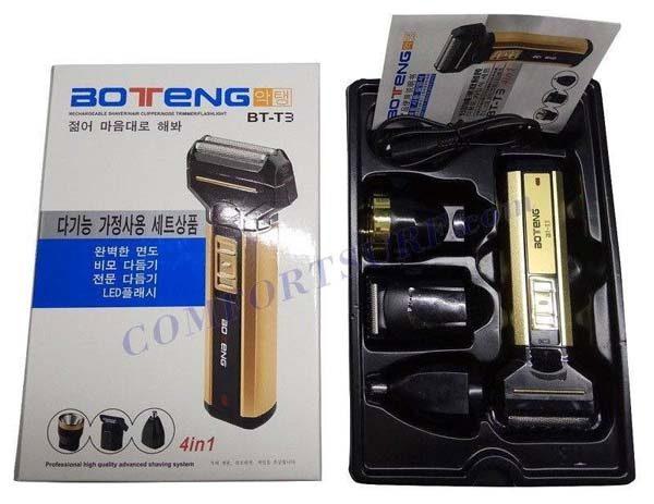Tông đơ kiêm máy cạo râu Boteng BT-T3 4 trong 1
