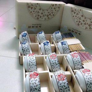 Bộ bát đũa xuất Nhật cho ngày tết thêm đầm ấm