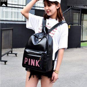 Balo Pink thời trang chống thấm nước