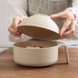 Bát úp mì tôm lúa mạch