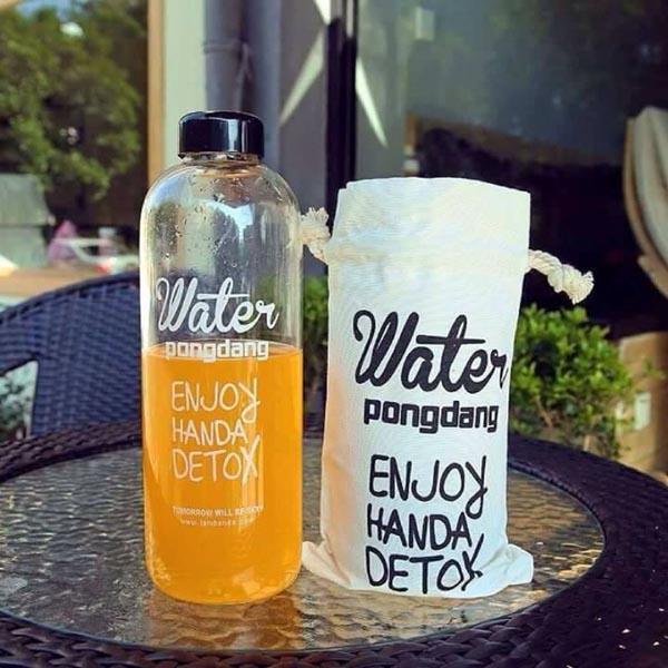 Bán sỉ bình nước Pongdang Detox 1000ml cực đẹp