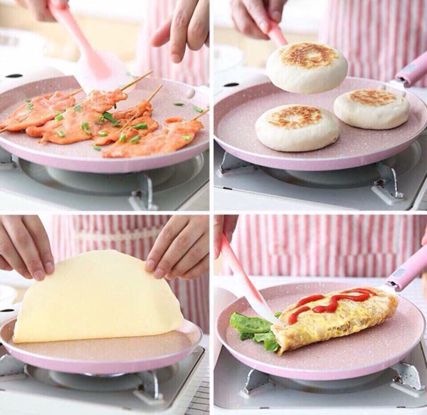 Bán buôn chảo làm bánh tráng Nhật Bản 20 cm