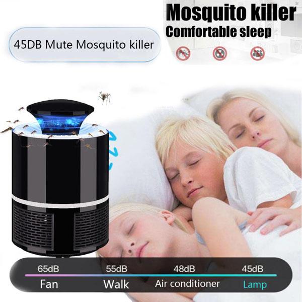 Bán sỉ đèn bắt muỗi thông minh Mosquito Killer cắm cổng usb