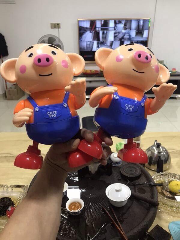Đồ chơi chú heo Pegpa Pig biết nhảy biết hát