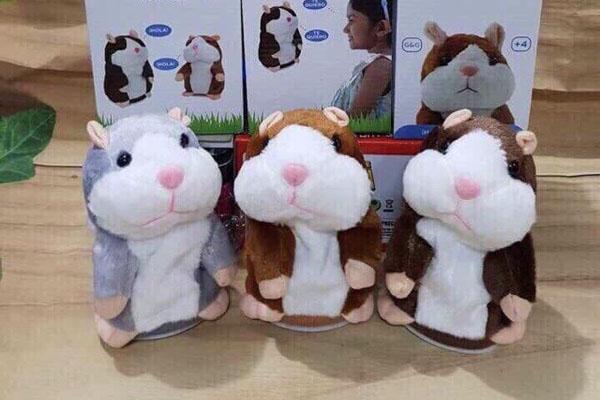 Bán buôn đồ chơi chuột Hamster biết nói
