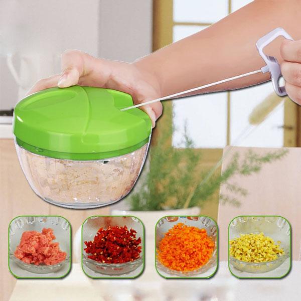 Dụng cụ băm nhỏ thực phẩm Easy Spin Cutter