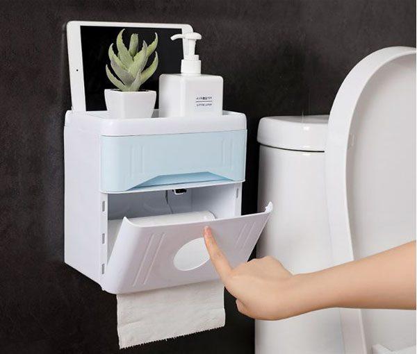 Bán sỉ hộp đựng giấy vệ sinh đa năng có ngăn kéo