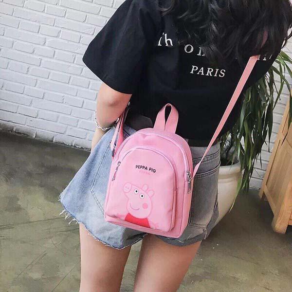 Bán buôn túi đeo vai nữ Peppa Pig dễ thương
