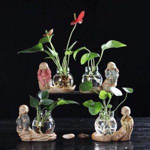 Bộ tượng 4 không kèm bình hoa độc đáo