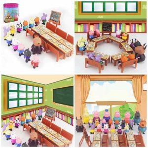 Bộ đồ chơi lớp học Peppa Pig cho bé