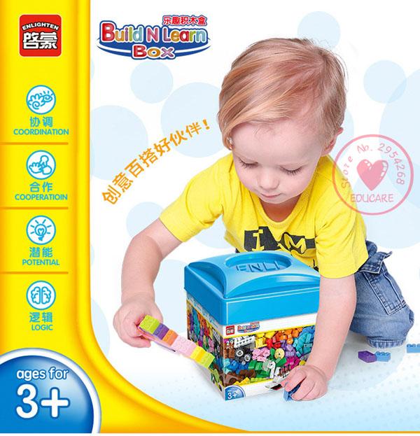 Bộ lắp ghép lego 460 chi tiết cho bé