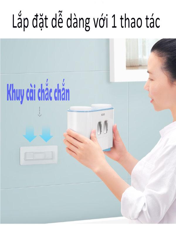 Bộ nhả kem đánh răng Ecoco cao cấp