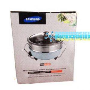 Nồi lẩu điện vân đá 2 tầng Samsung DH-SS03