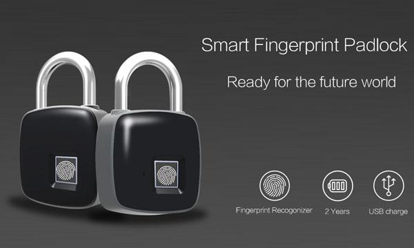 Ổ khóa vân tay mini Smart Lock