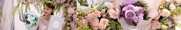 Banner bán sỉ hoa hồng sáp