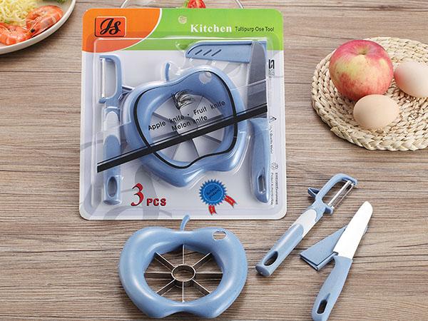 Bộ dụng cụ cắt gọt hoa quả 3 món