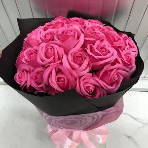 Bán sỉ Bó hoa hồng sáp 33 bông đẹp