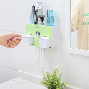 Bán buôn Bộ lấy kem đánh răng Ecoco kèm 2 cốc tự động sấy nhiệt
