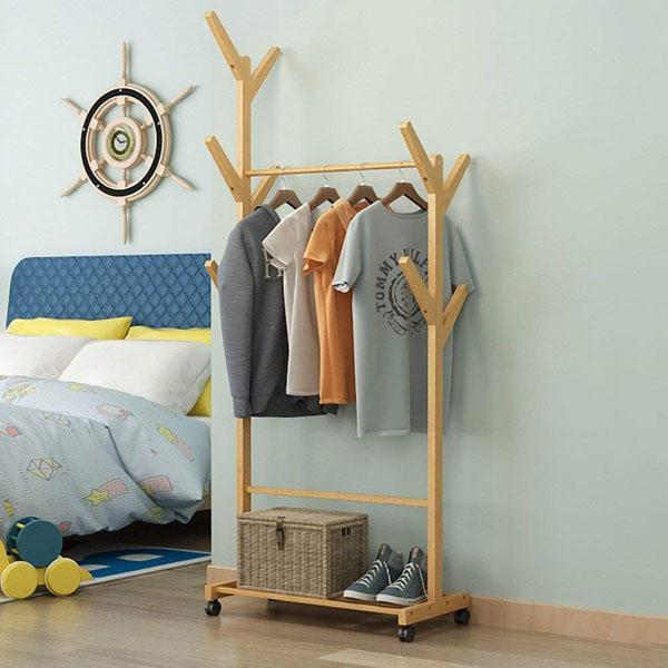 Bán sỉ Cây treo quần áo bằng gỗ tiện dụng