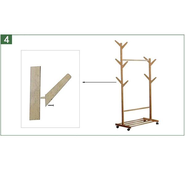 Bán buôn Cây treo quần áo bằng gỗ tiện dụng