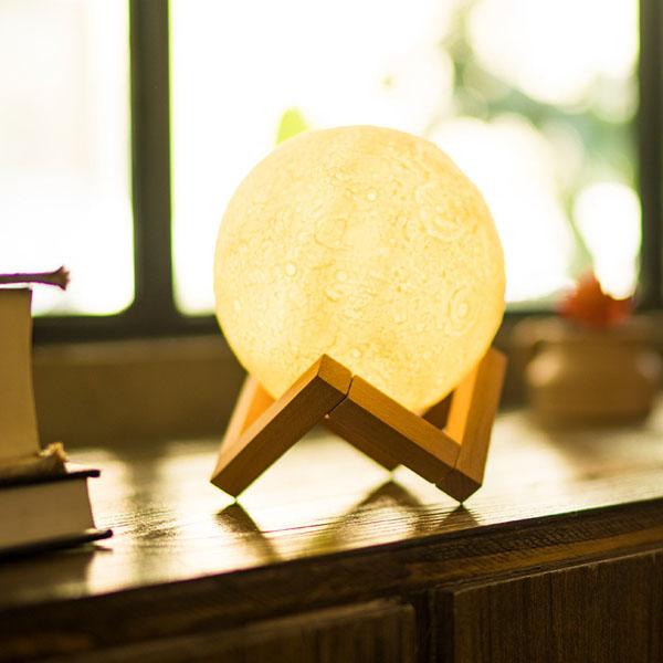 Đèn ngủ mặt trăng Moon Light độc đáo 18 cm