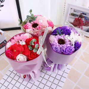 Hoa hồng bó Momoyoyo đủ màuHoa hồng bó Momoyoyo đủ màu