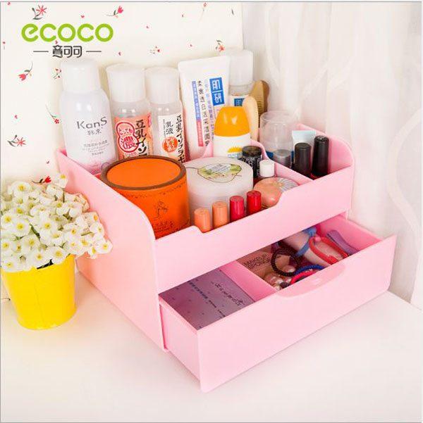 Kệ đựng mỹ phẩm có ngăn kéo Ecoco