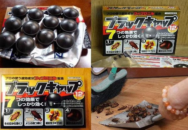 Bán sỉ Thuốc diệt gián Nhật Bản hộp 12 viên