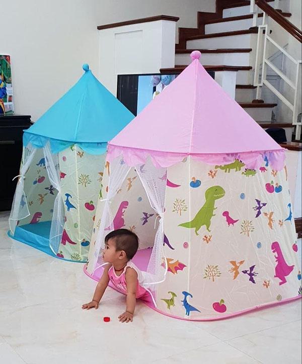 Bán buôn Lều công chúa hoàng tử hình khủng long cho bé
