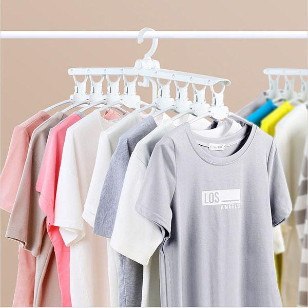 Móc treo quần áo đa năng gập gọn Komeki 4008