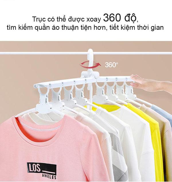 Bán buôn Móc treo quần áo đa năng gập gọn Komeki 4008