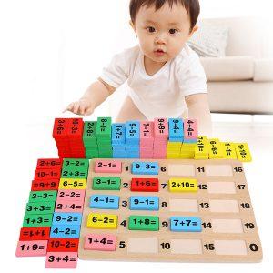 Bộ đồ chơi Domino học toán cho béBộ đồ chơi Domino học toán cho bé