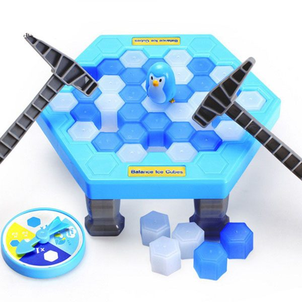 Bộ đồ chơi phá băng chim cánh cụt Balance