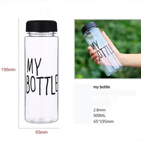 Bán buôn Bình thủy tinh my bottle 500ml