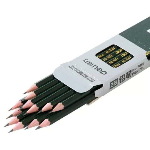 Hộp 12 cây bút chì 2B Deli