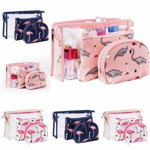 Set 3 túi đựng mỹ phẩm đồ dùng cá nhân