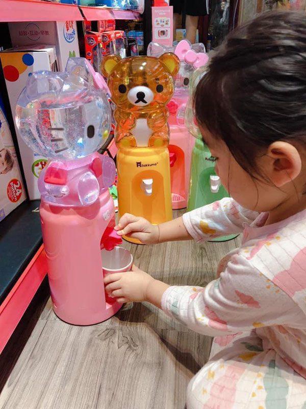 Bình lọc nước mini hình thú cho bé